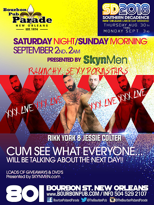Jessie Coulter and Rikk York LIVE at THE AFTER DARK PARTY for Southern Decadence 2018